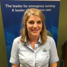 Becky Clarke, Acting Nurse Unit Manager, Emergency Department, Royal Hobart Hospital