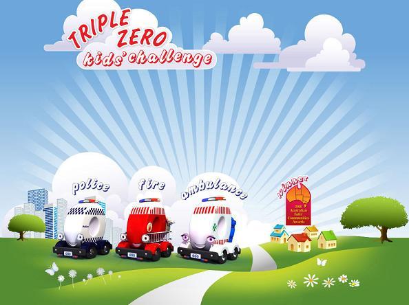 Play the Triple Zero Kids' Challenge