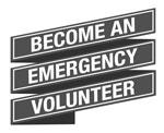 Become an emergency volunteer
