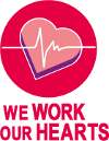 We work our hearts