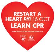 Restart a Heart Day 16 Oct - Learn CPR