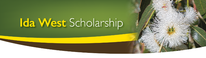 Ida West Health Scholarship