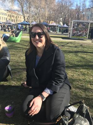 Meredith Eberle at Salamanca