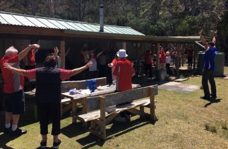 Bucaan Walking Group outside - Bucaan Walking Group gatherings
