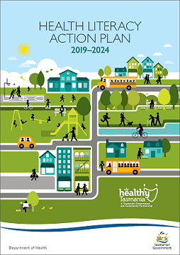 Healthy Literacy Action Plan cover page