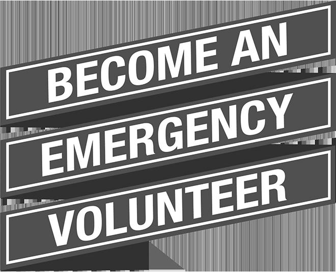 Choose a career as an emergency volunteer