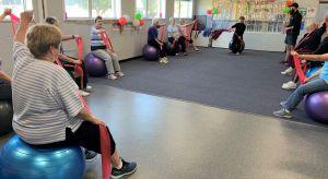 Stretching- Starting Point Neighbourhood House Fitball Class