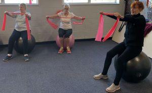 Stretching - Starting Point Neighbourhood House Fitball Class