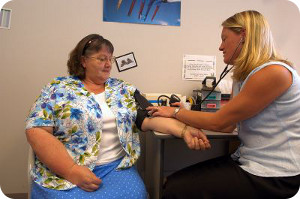 Diabetes monitoring at the Devonport Community and Health Services Centre