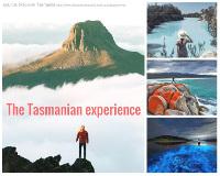 Discover Tasmania collage of photos
